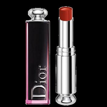 Dior迪奥 魅惑釉唇膏口红黑管漆光固体唇釉3.2g 740号 可乐部 大热南瓜色枫叶红